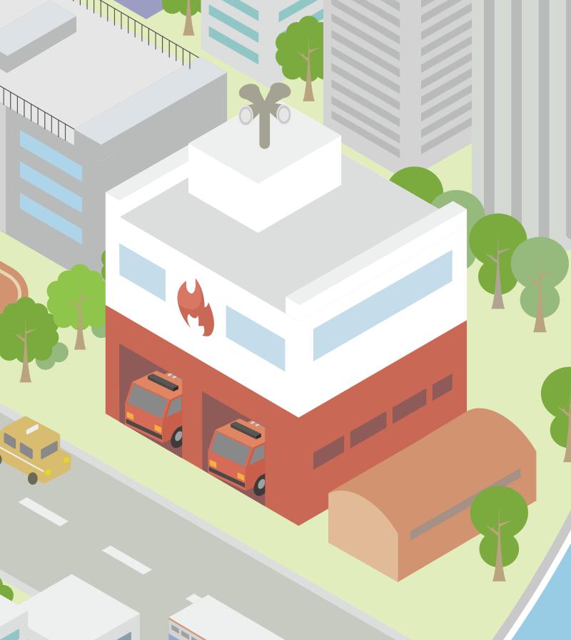 消防署 - 消防指令システム