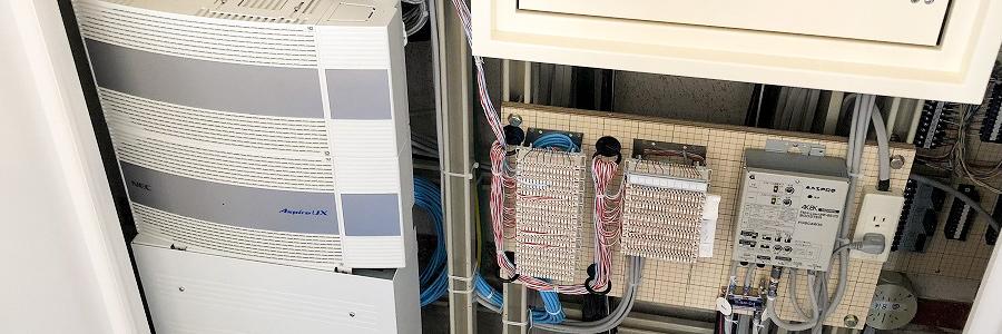 情報通信・電気工事 電話交換機器設備工事 サービス詳細