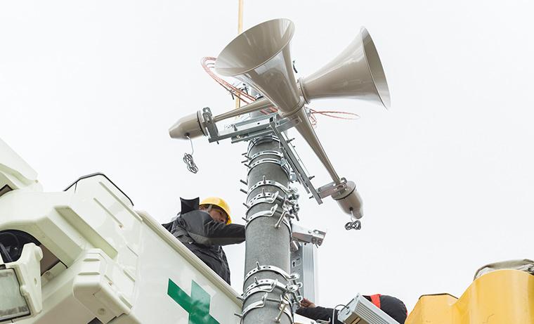 行政、業務用通信システムのソリューションを提供